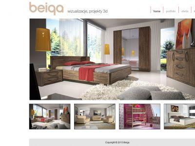 Strona www dla firmy Beiga