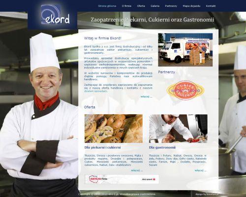 Strona www dla firmy Ekord