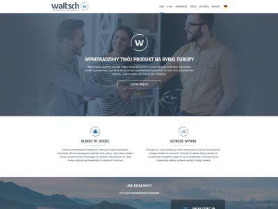 Strona www dla firmy Waltsch