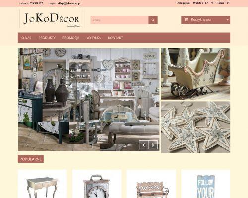 Sklep internetowy JoKoDecor
