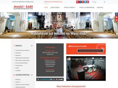 Strona www dla parafii Najświętszego Imienia Jezus