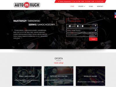 Strona www dla firmy Auto Ruch