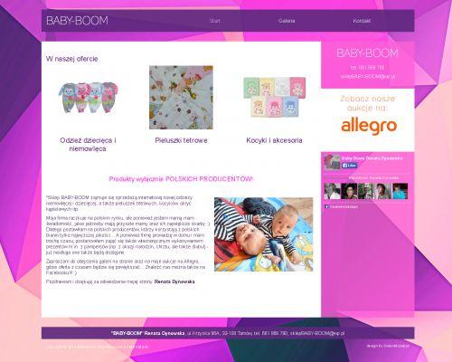 Strona www dla Baby-Boom