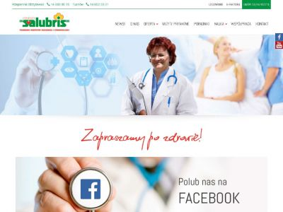 Strona www dla NZOZ Salubris
