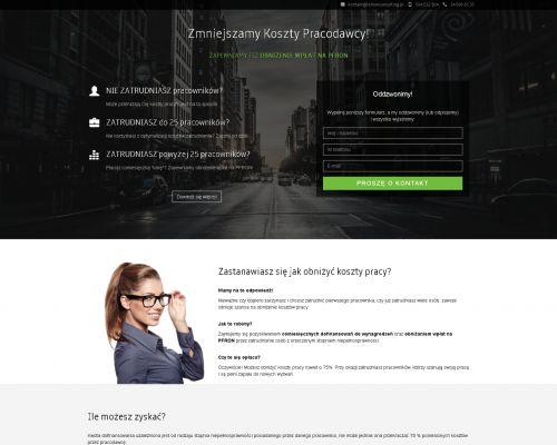 Strona www Zmniejszamy-koszty
