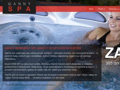 Strona www dla SPA Kompleks