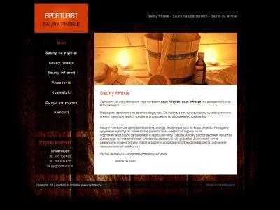 Strona www dla SportTourist