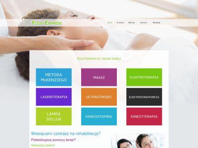 Strona www dla fizjoterapeuty