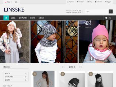Sklep internetowy LINSSKE