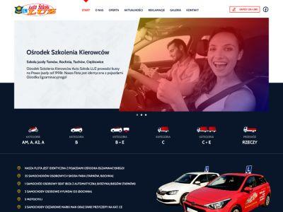 Strona www dla firmy LUZOSK