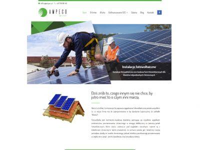 Projekt i wykonanie responsywnej strony internetowej