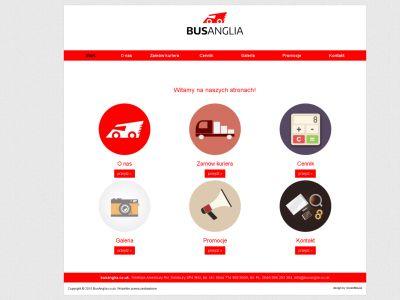 Strona www busanglia.co.uk