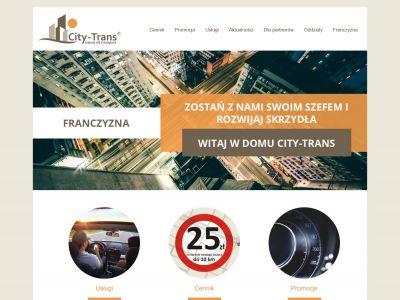 Strona internetowa dla firmy transportowej