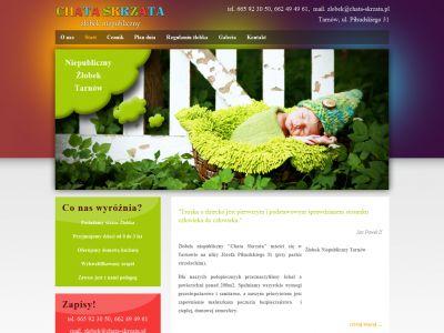 Strona www dla Chata Skrzata