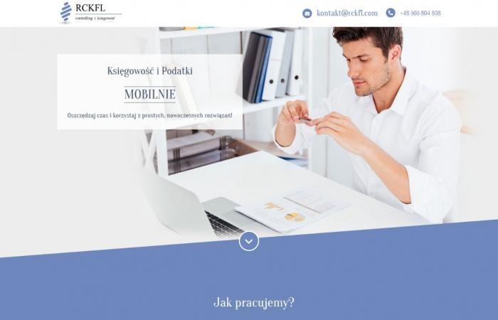 Strona internetowa dla RCKFL