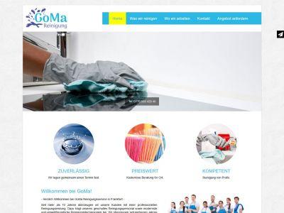 Prosta strona internetowa dla firmy sprzątającej z Niemiec