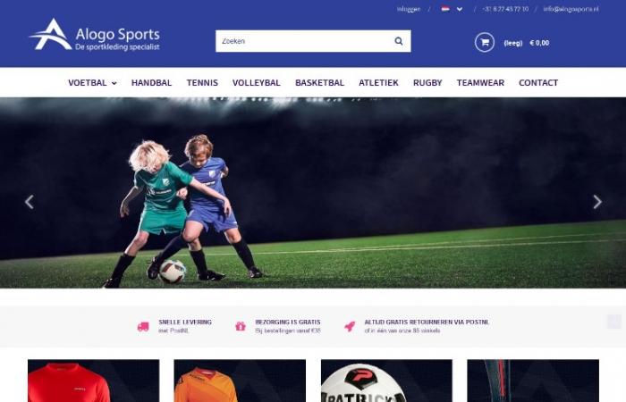 Sklep internetowy dla naszego holenderskiego klienta