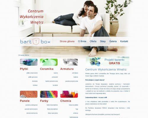 Strona www dla firmy Bart-Box