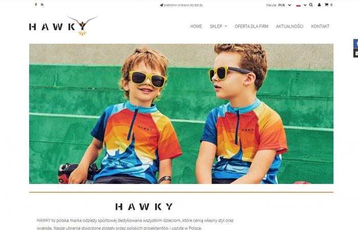 Sklep internetowy Hawky