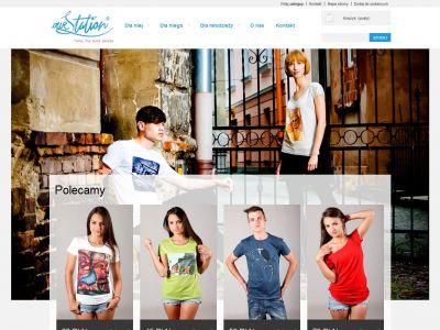 Sklep internetowy z odzieżą