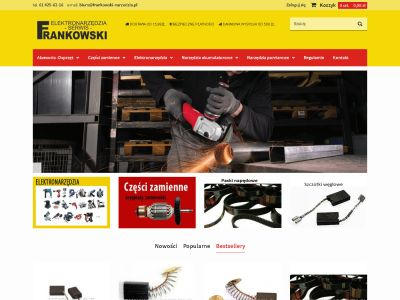Sklep internetowy Frankowski Narzędzia