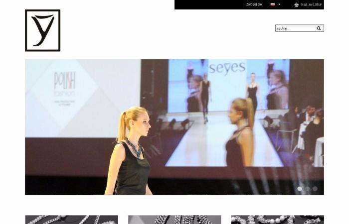 Sklep internetowy dla firmy Seyes