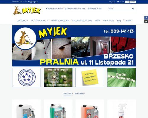 Sklep internetowy ze środkami do czyszczenia