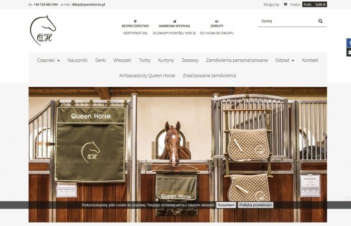 Sklep Internetowy Queen Horse