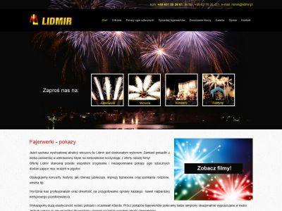 Strona www dla firmy Lidmir
