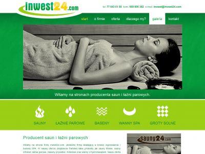 Strona www dla firmy Inwest24.com