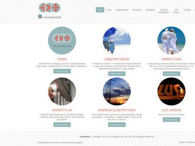 Strona www dla firmy S-inwestor