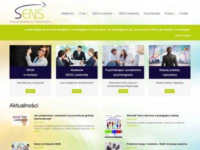 Strona www dla Centreum Sens