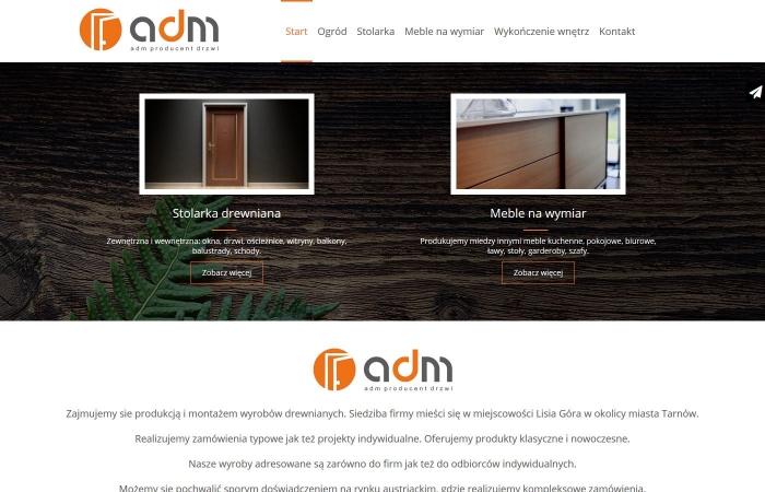 Responsywna strona internetowa z systemem zarządzania treścią