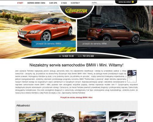 Strona www dla Mechanika Samochodowego