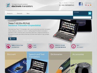 Sklep internetowy tłumacze-elektroniczne