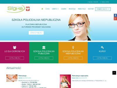 Strona www dla szkoły
