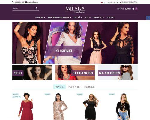 Sklep www dla milada