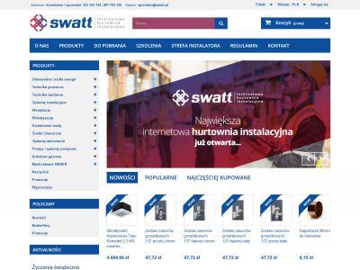 Sklep internetowy / hurtownia instalatorska
