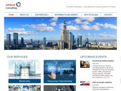 Strona www dla InPoland Consulting