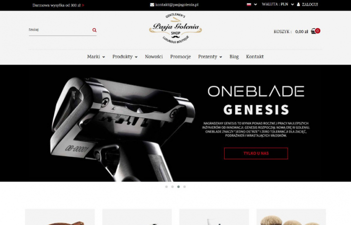 Sklep internetowy dla brodaczy