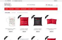 Sklep internetowy z motywującymi produktami