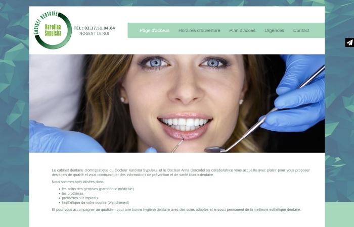 Strona internetowa dla dentysty