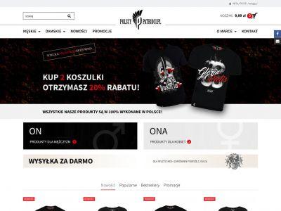 Sklep internetowy dla branży odzieżowej