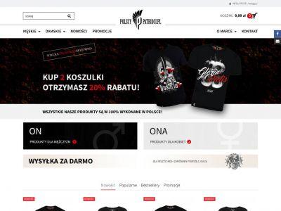 Sklep www dla Polscy Patrioci