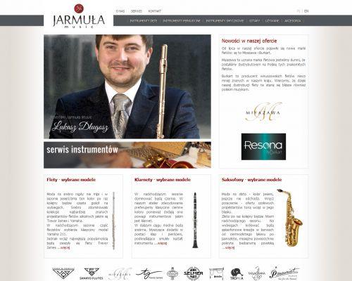 Strona www dla Jarmuła Music