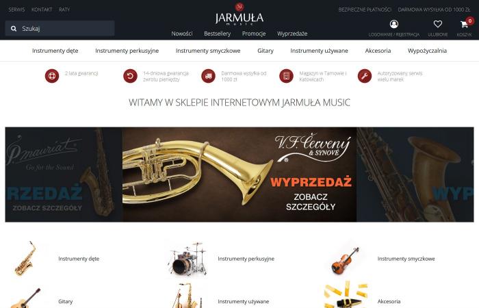 Internetowy sklep muzyczny