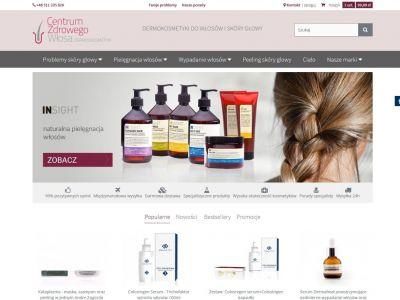 Sklep internetowy Centrum Zdrowego Włosa
