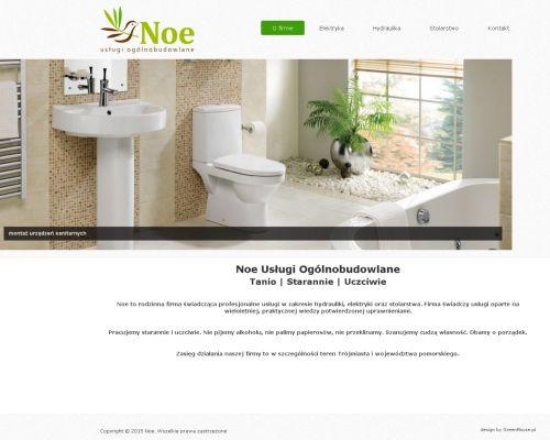 Strona www dla firmy Noe
