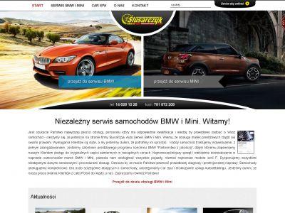 Strona WWW  dla firmy Ślusarczyk