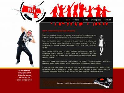 Strona www dla OIOM
